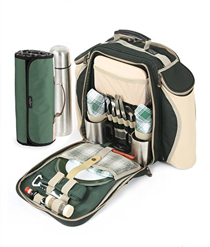greenfield-collection-deluxe-picknick-rucksack-fur-2-personen-mit-passender-decke