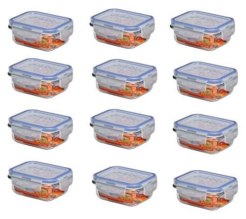 Lock&Lock 12 er Set a Glasbox LLG411, 130 ml, 110x90x47 mm