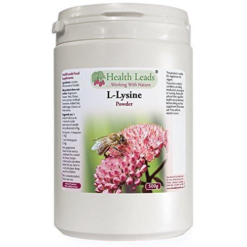 High Quality L-Lysine Powder 500g Pharmaceutical Grade (Additive Free)