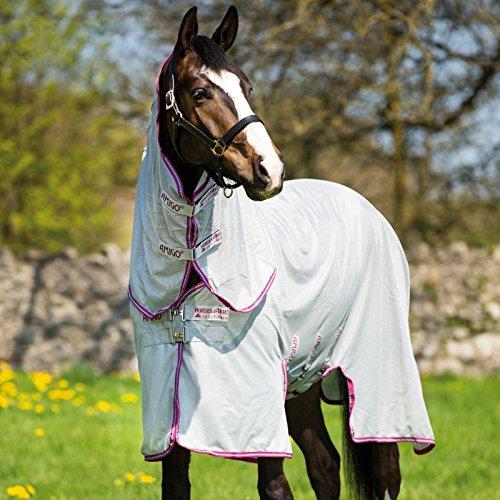 Horseware Fliegendecke Amigo Bug Buster Vamoose Silver/Purple