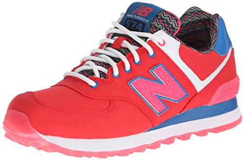 new-balance-womens-classic-traditionnels-red-textile-trainers-38-eu