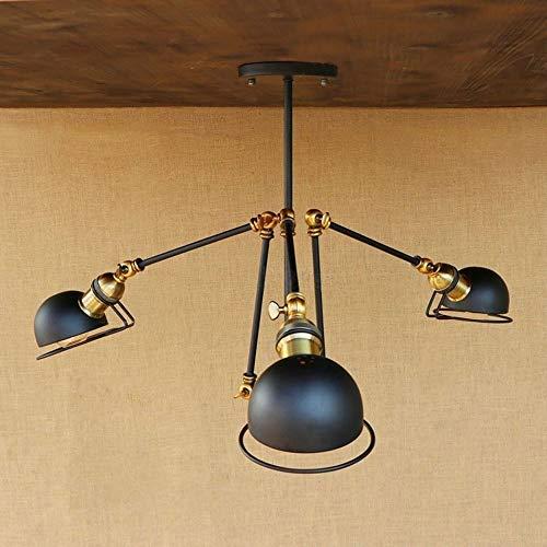 Moliay 3-luces Luz de techo de América industrial a largo flexible de...