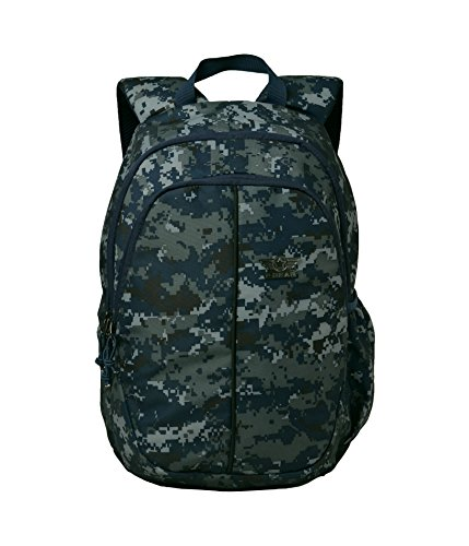 F Gear Military Paladin Polyester 26 Ltrs Marpat Navy Digital Camo Casual Backpack (2792)