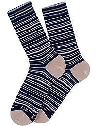 Chaussettes rayures Fast en coton