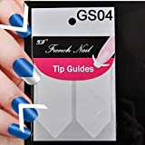 ELENXS Beauty Accessories 18 Style Chic DIY Manicure Nail Art Tips Tape Sticker Guide Stencil Wrap Decals