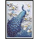 ❤Mosstars Painting 5D DIY Diamant Malerei Stickerei Malerei Teil Runde Diamant Malerei Wohnkultur Geschenk Embroidery Painting Cross Stitch Bedroom Living Room Office Decoration 30x45cm