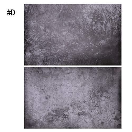 Dabixx geknackt Wand Textur Papier Hintergrund Kulisse für Studio Foto Fotografie Prop-Black (Fotografie-hintergrund-papier)