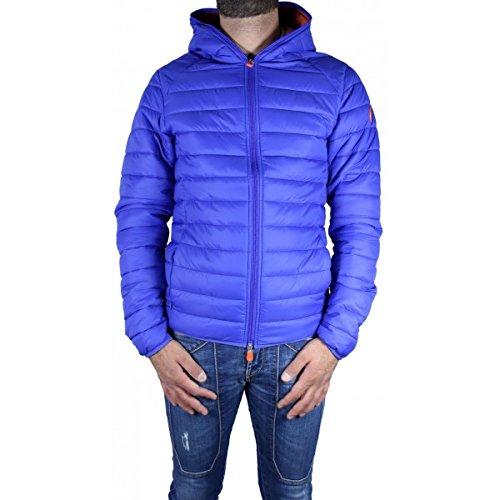 SAVE THE DUCK Uomo Giubbotto Piumino Autunno Inverno Blu Art 3065MGIGA3 09 5 A16 (L)
