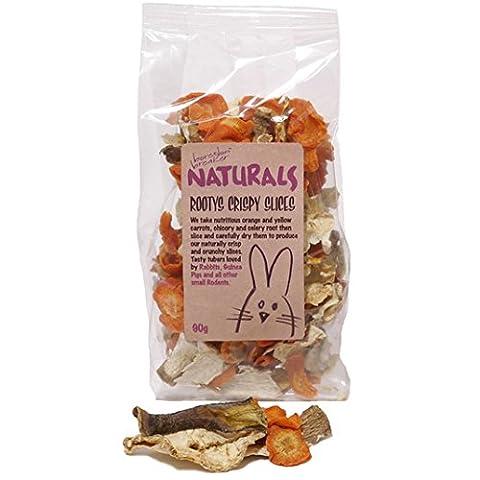 Boredom Breaker Natural Treats Rootys Crispy Slices 90g