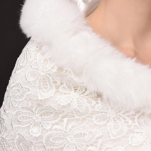 SK Studio - Châle - Femme Blanc