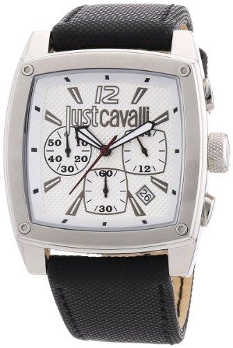 Just cavalli Pulp uomo cronografo argento quadrante orologio R7271583001