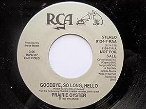 Prairie Oyster - North Americana