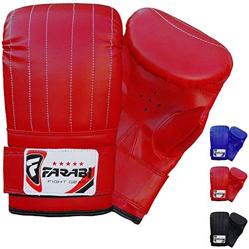 Guantoni da boxe, per allenamento con il sacco o MMA, Red