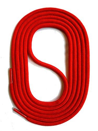 Snors lacci colorati rotondi rosso 90cm 35.4