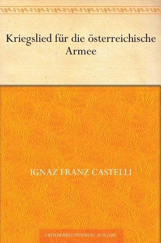 Kriegslied für die österreichische Armee