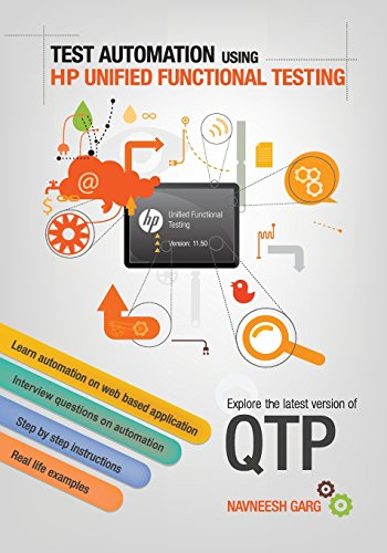 Hp tools the best amazon price in savemoney test automation using hp unified functional testing explore latest version of qtp fandeluxe Choice Image