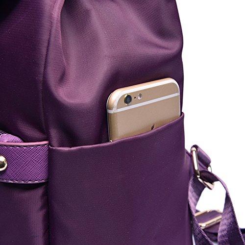Versione signora coreana dello zaino/Collegio Vento borse da viaggio moda minimalista-A A