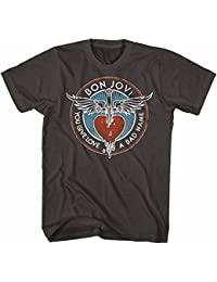 Bon Jovi Mens Badname T-Shirt