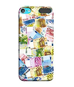 FUSON Designer Back Case Cover for Apple iPod Touch 5 :: Apple iPod 5 (5th Generation) (Dollors rupees Dhinars currency Arts)