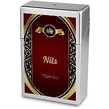 Zigarettenbox mit Namen Jonny Zigarettenschachtel Kunststoffbox Zigarettenetui Personalisierte H/ülle mit Design Zigarettenbox