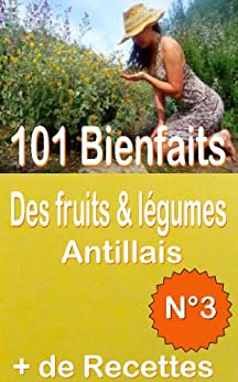 101 Bienfaits des fruits & légumes Antillais  + Recettes, Volume 3 (santé mangé bougé) par [FEUGOD, Daryl, ALGOU, Freddy]