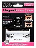 ARDELL Professional Magnetic Liner & Lash Accent 002, magnetischer Eyeliner mit 1 Paar magnetische Wimpern, einfaches Anbringen