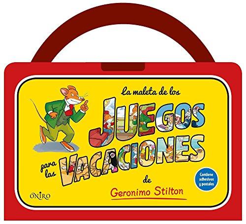 La maleta de los juegos para las vacaciones de Geronimo Stilton por Geronimo Stilton