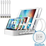 Best Charging Stations - Multi Device USB Charging Station JZBRAIN 5 Port Review