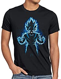 style3 Songoku Max Power T-Shirt Homme turtle ball z roshi dragon
