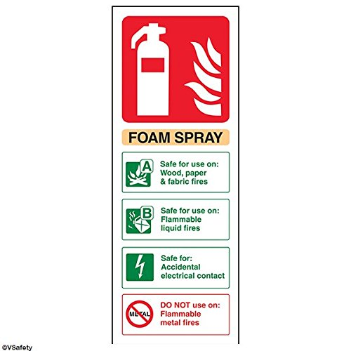 vsafety-11012ac-r-fire-extinguisher-sign-foam-spray-id-electrical-safe-rigid-plastic-portrait-75-mm-