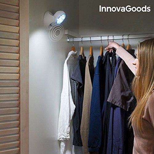 InnovaGoods Lámpara LED con Sensor de Movimiento