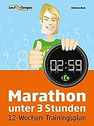 Marathon unter 3 Stunden