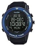 Pulsar Herren-Armbanduhr XL Sport Digital Quarz Kautschuk PQ2029X1