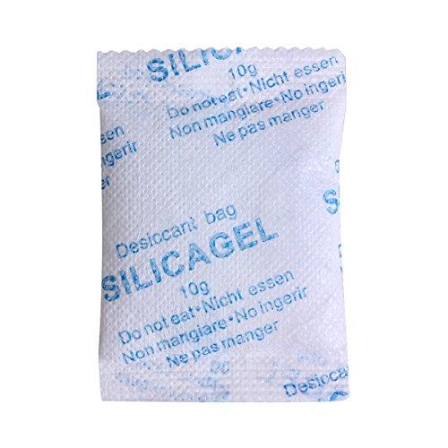 20 Beutel a 10 Gramm Silica Gel Silicabeutel Trockenmittel Luftentfeuchter regenerierbar TYVEK Beutel