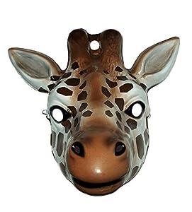 No concerne-i-3278-Accesorio para disfraz-Máscara-Animal Jirafa