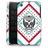 DeinDesign Coque Compatible avec Apple iPhone 3Gs Étui Housse Tête De Mort Motif Crazy Maya