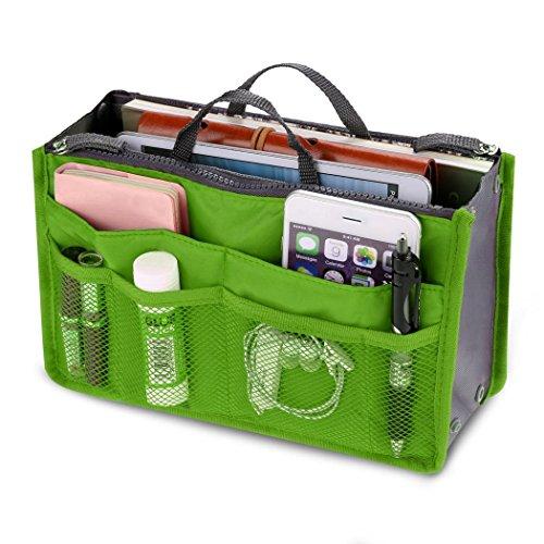 Iiloens Mode Frauen Multifunktions Travel Kosmetik Make-up Insert Pouch Toiletry Veranstalter Handtasche Storage Geldbörse Schrankordnungssysteme