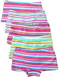 Mädchen Unterhosen 5er Pack Panty Slip Farbmix