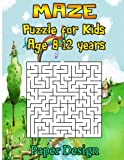 Maze Puzzle for Kids Age 8-12 Years, 50 Fun to Explore Maze: Activity Book for Kids,children Books,brain Games, Young Adults, Hobbies