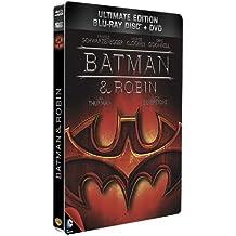 Batman & Robin - Combo Blu-Ray + DVD - Steelbook format Blu-Ray - Collection DC COMICS
