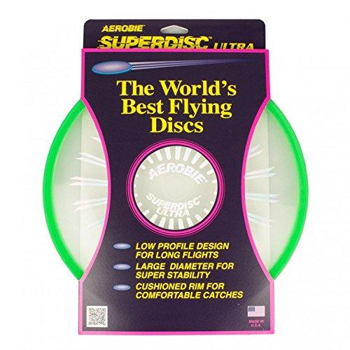 Aerobie SuperDisc Flying Disc (Frisbee) - grün