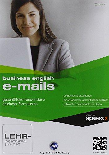 Business English E-Mails, CD-ROM Geschäftliche Korrespondenz stilsicher formulieren