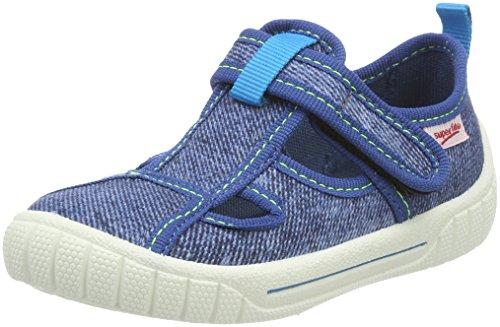 Superfit Bill, Pantofole Bambini e Ragazzi, Blau (Nautic Kombi), 33 EU