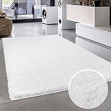 Tappeto in tinta unita, colore: Bianco, rotonda/rettangolare, Oeko Tex, varie