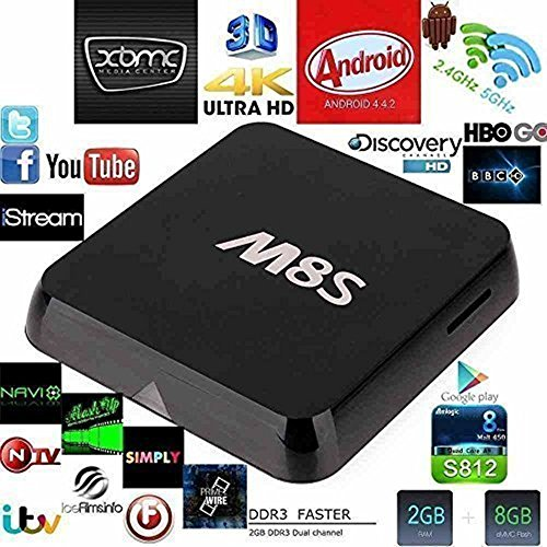 1000+ EU Arabic India UK HD Sport IPTV Channels With M8s Amlogic S812 Quad/Octo Core Xbmc Android 4.4 4k Smart Htpc Tv BOX