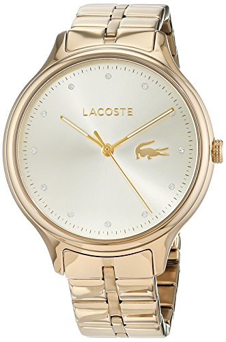 Lacoste Womens Analogue Classic Quartz Watch with Stainless Steel Strap 2001008