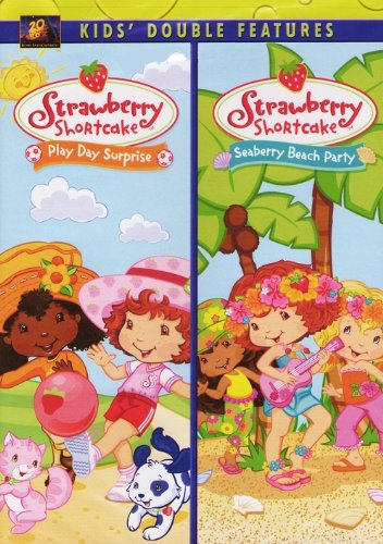 Strawberry Shortcake DVD - Two Pack - Play Day Surprise / Seaberry Beach Party