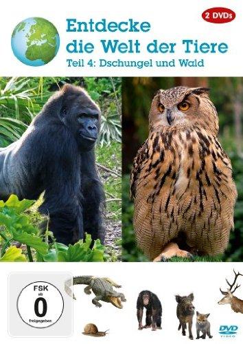 Entdecke die Welt der Tiere - Teil 4: Dschungel und Wald [2 DVDs]