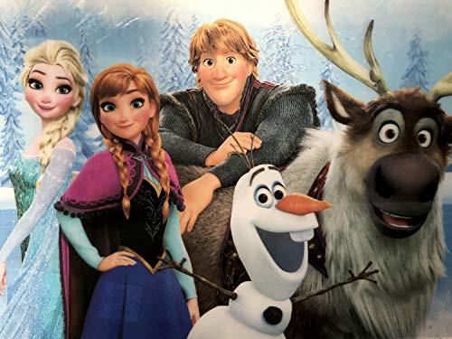 Disney Frozen Tischset - Coole-Fun-T-Shirts Frozen Tischset mit 3D Effekt