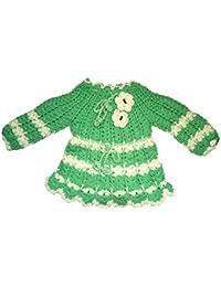 Handmade Woolen Sweater CUM frock (6-12 month baby girl)